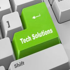 Banner saying Technology Solutions