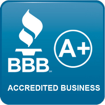 Better Business Bureau A+ Badge