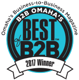 Badge - Omaha's Business to Business Magazine - Best of B2B Winner 2017