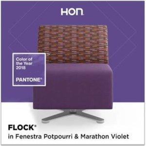 Pantone color of the year 2018 Ultra Violet HON Flock Fenestra Potpourri Marathon