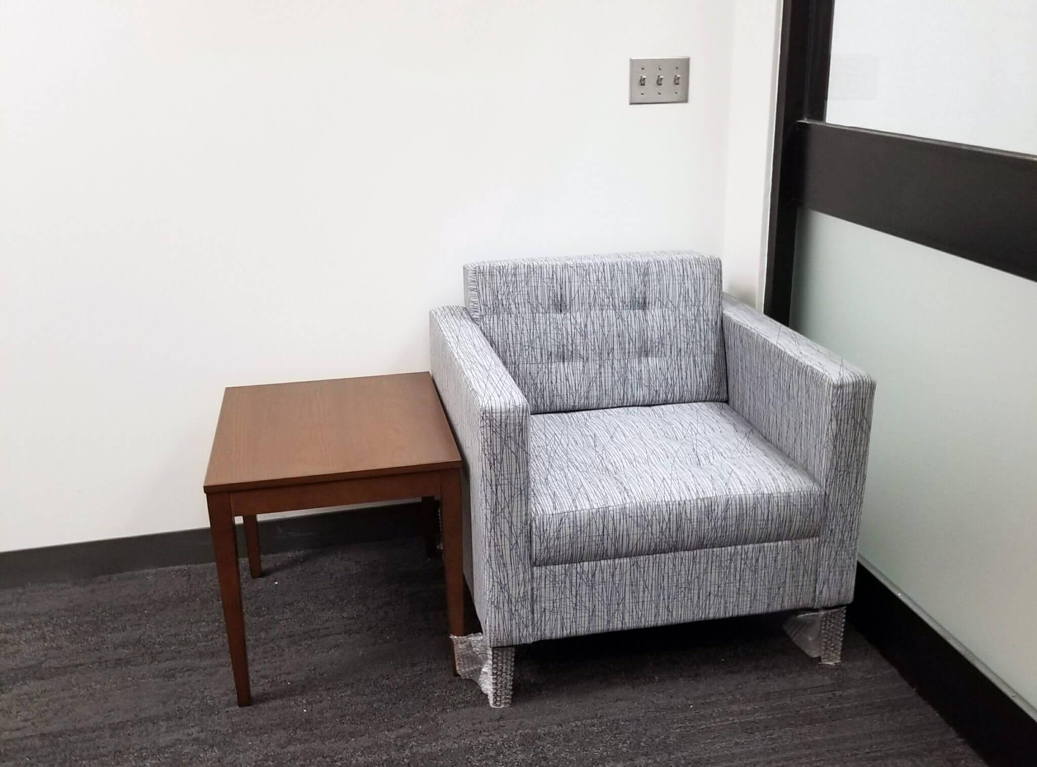 OPS TAC building Gunlocke Ciji chair National Eloquence table