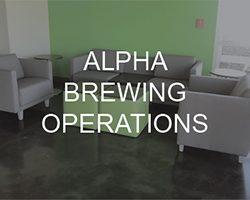 Alpha Brewing Operations